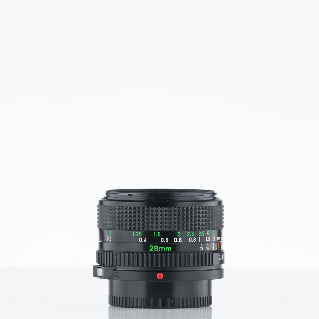 Canon New FD 28mm f/2.8
